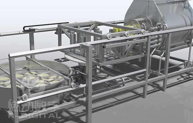 食品加工机械三维演示