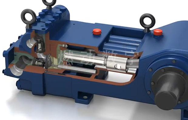 液压机械设备三维仿真