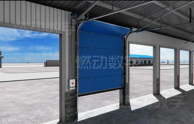 工业电动提升门、工业