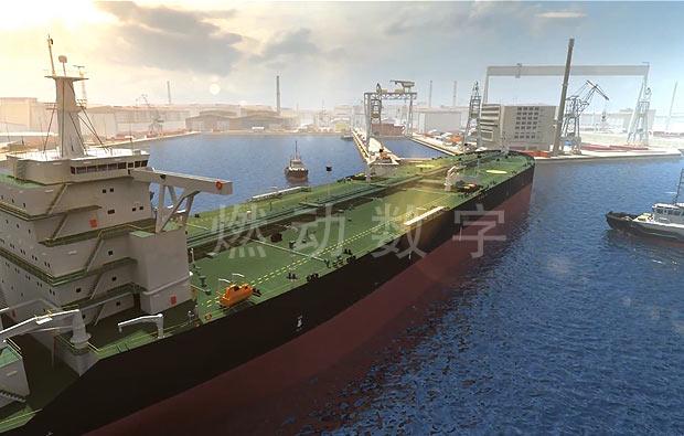 港口码头泊位及装卸机