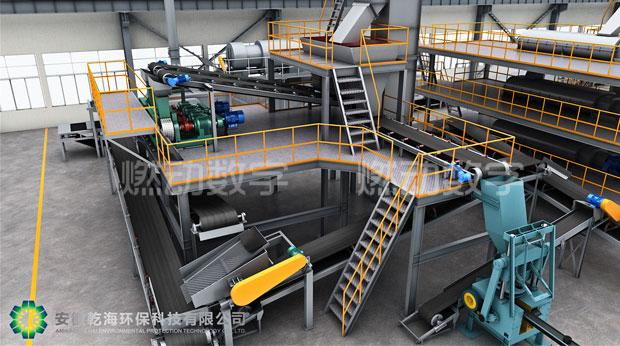 环保洁净型煤工艺流程