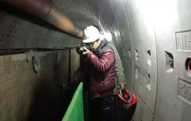 深入盾构地下施工现场