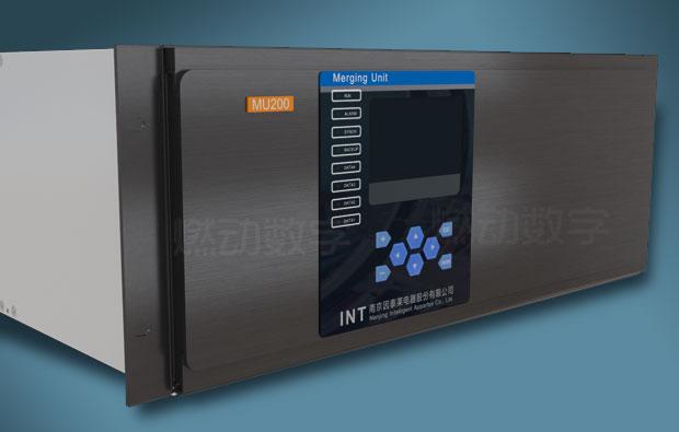 智能配电站合并器三维