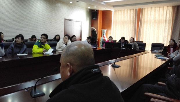 公司领导赴连云港各职业院校进行技术交流