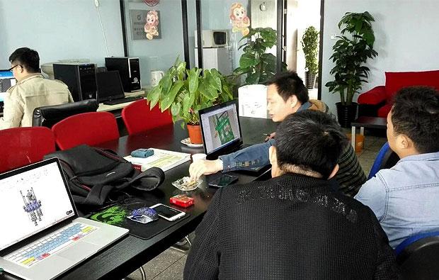 签约浙江荣升机械轮胎定型硫化设备工艺流程三维动画