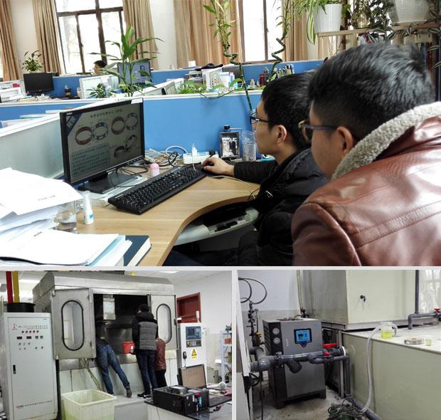 南航机电学院机匣旋印电解加工三维可视化项目进行中