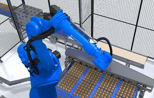 工业机器人机械臂三维仿真演示动画制作