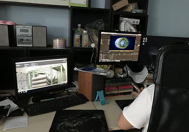 日本奥村机械制造隧道掘进盾构机三维演示动画