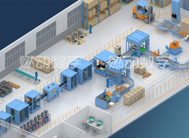 工业大数据与跨产业跨供应链跨价值链的整合三维可视化