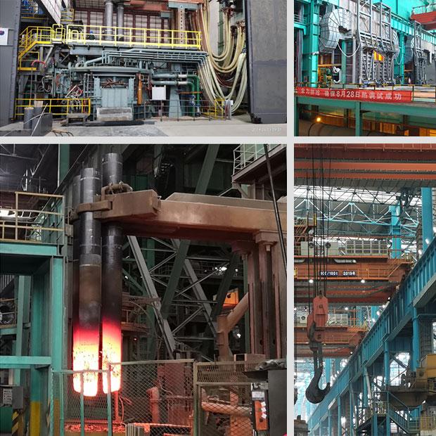 完成中冶华天炼钢专业工艺三维仿真演示动画项目制作